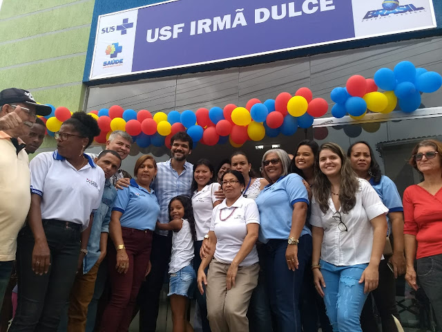*Prefeitura inaugura Unidade de Saúde do Bairro Irmã Dulce