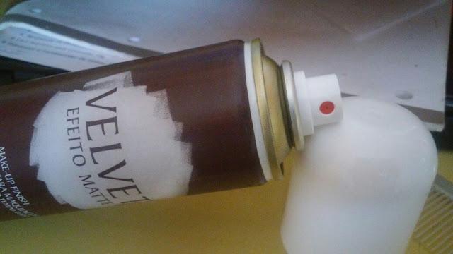Finalizador para maquiagem Velvet Efeito Matte Aspa Cosméticos
