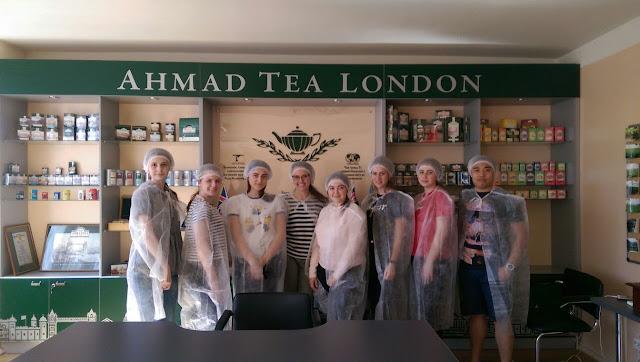 Екскурсія до Чайної Фабрики Ahmad Tea
