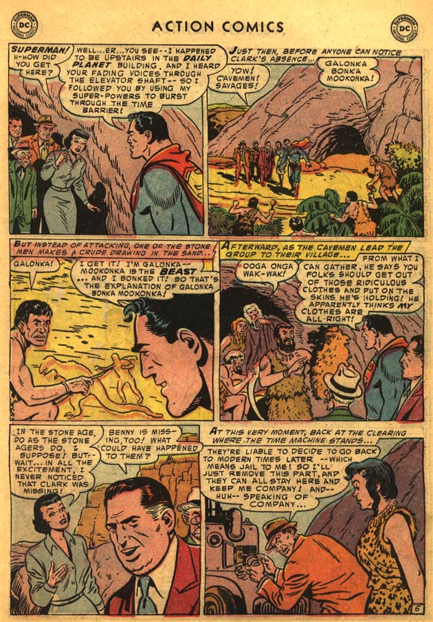 Read online Action Comics (1938) comic -  Issue #201 - 7