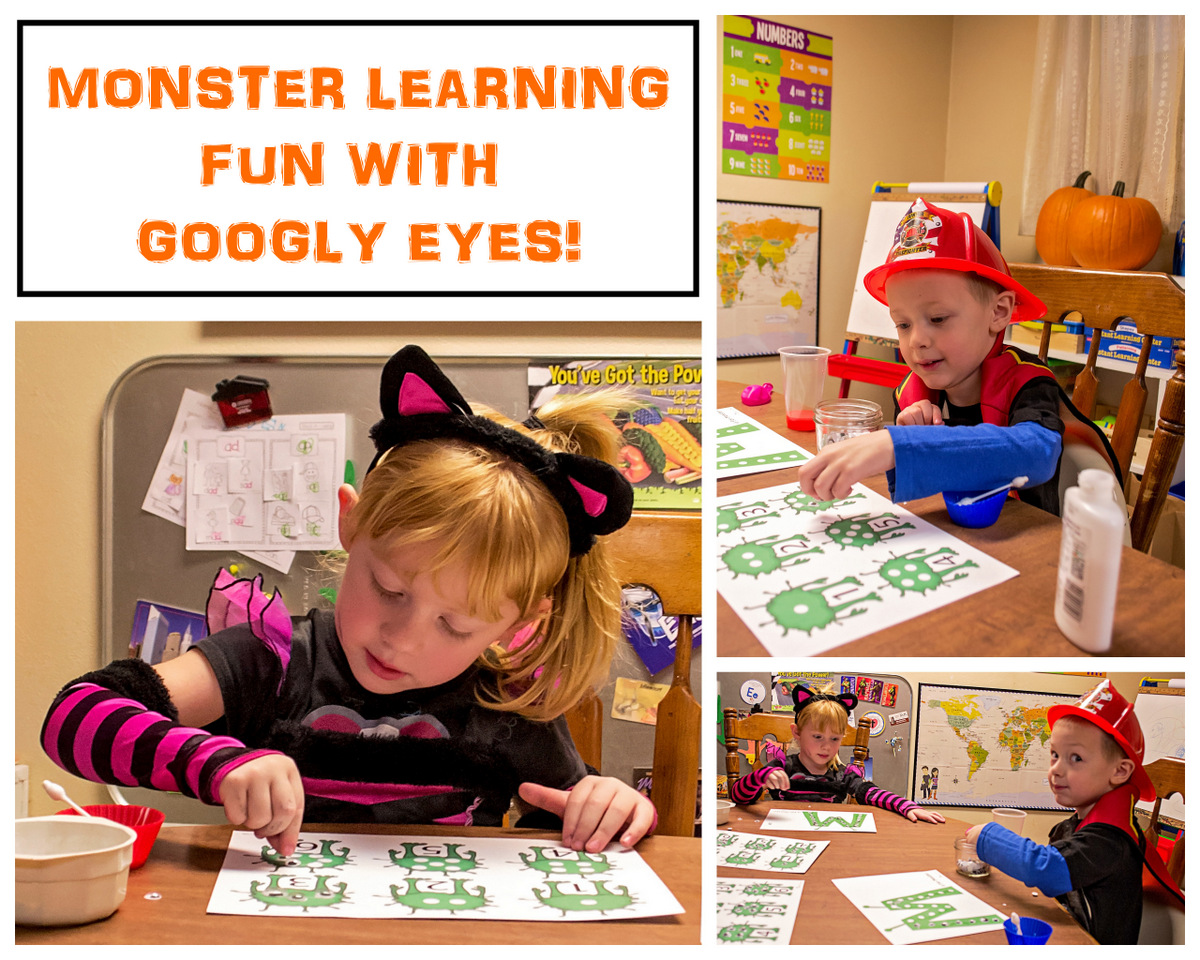 Fall Flashback Monster Preschool Fun Math And Science