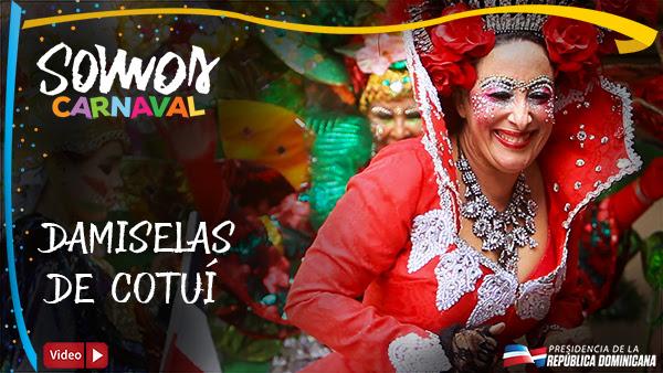 VIDEO: Damiselas de Cotuí. Somos Carnaval