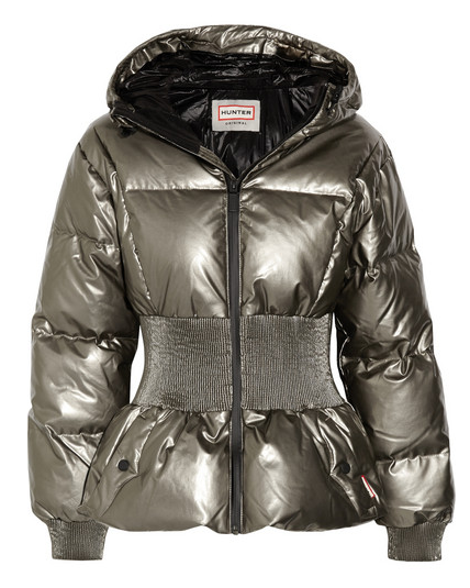 hunter goose down jacket