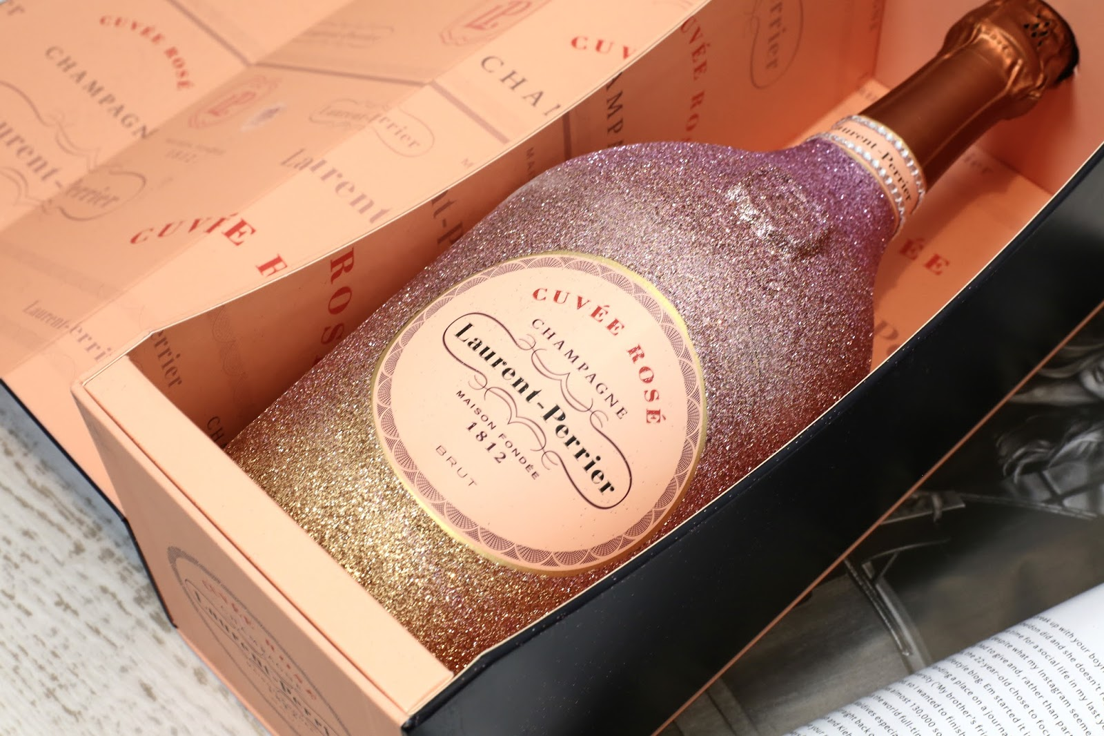 laurent perrier pink champagne magnum