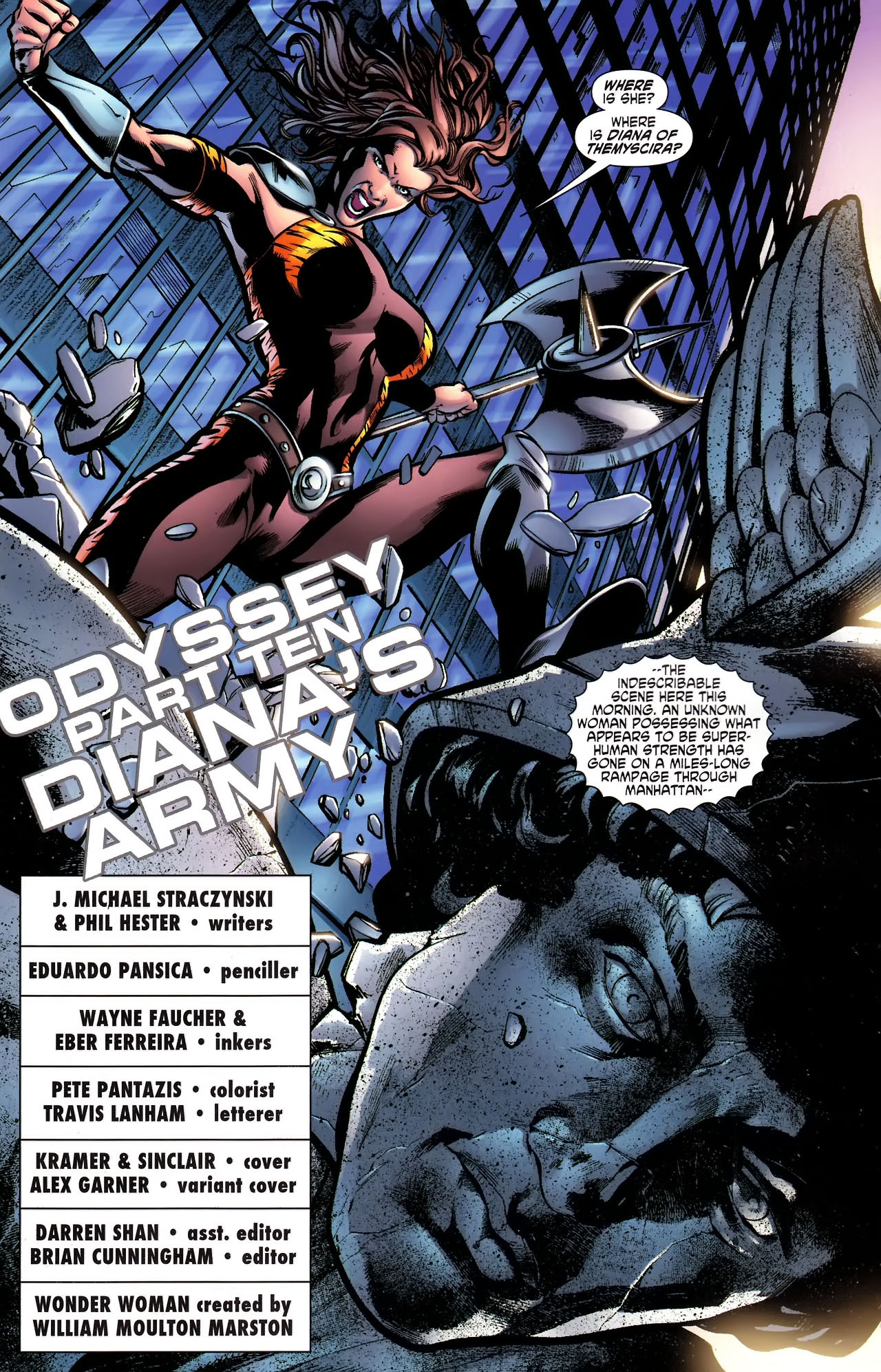 Read online Wonder Woman (2006) comic -  Issue #610 - 2