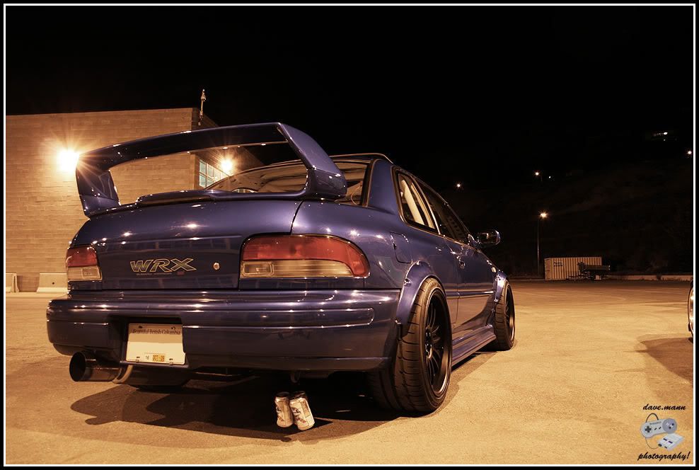 Subaru Impreza WRX STi, boxer, badass