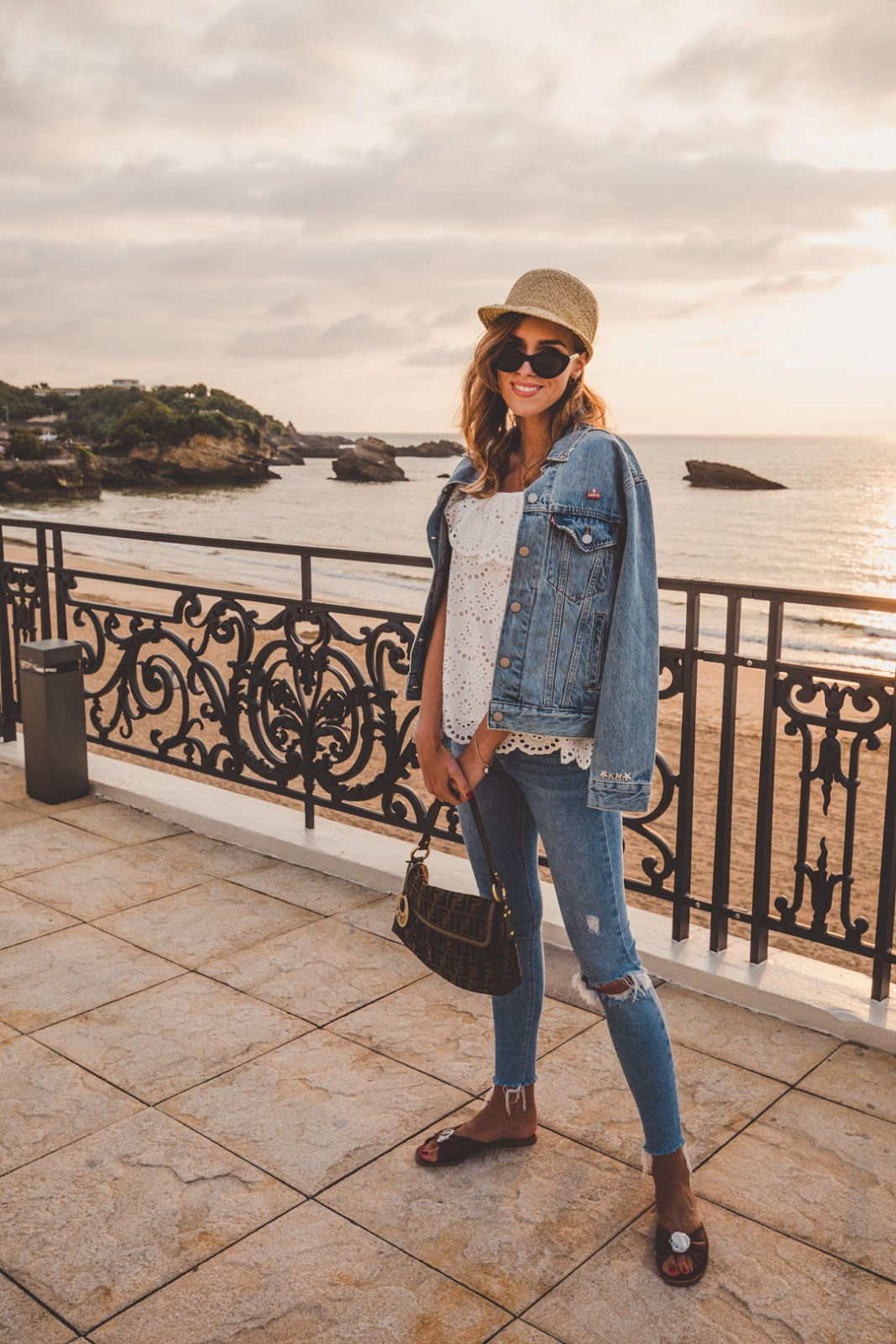 double denim summer look