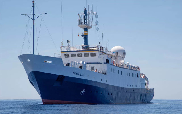 Navio de Exploração Nautilus - Ocean Exploration Trust