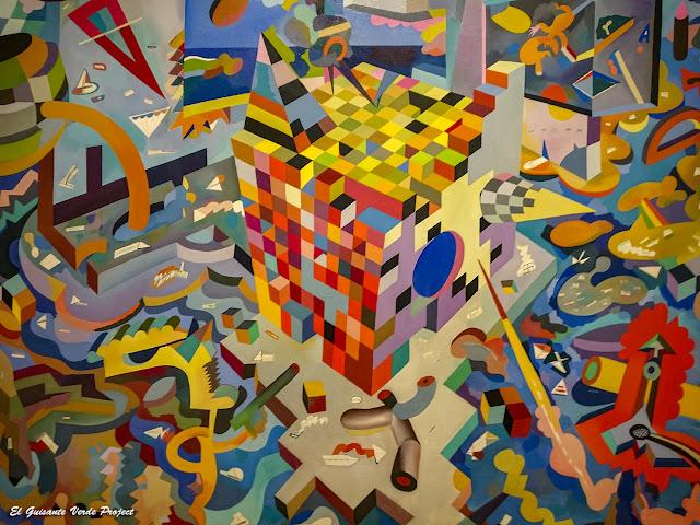Lección de geometría en Txatximinta, Daniel Tamayo - Museo Bilbao por EGVP
