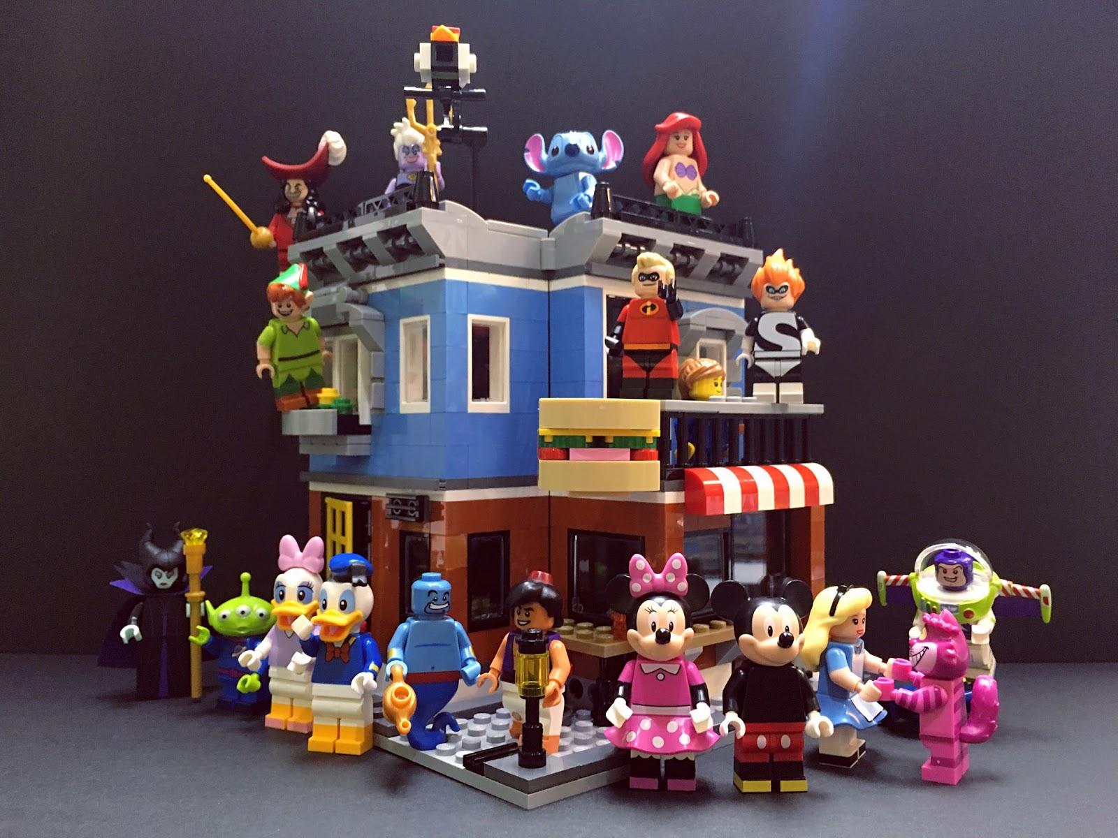 DeToyz Shop: Lego Minifigure Disney Series