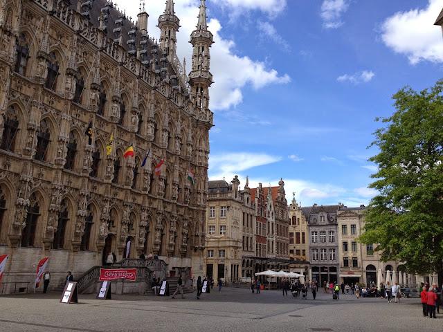 El ayuntamiento de Leuven