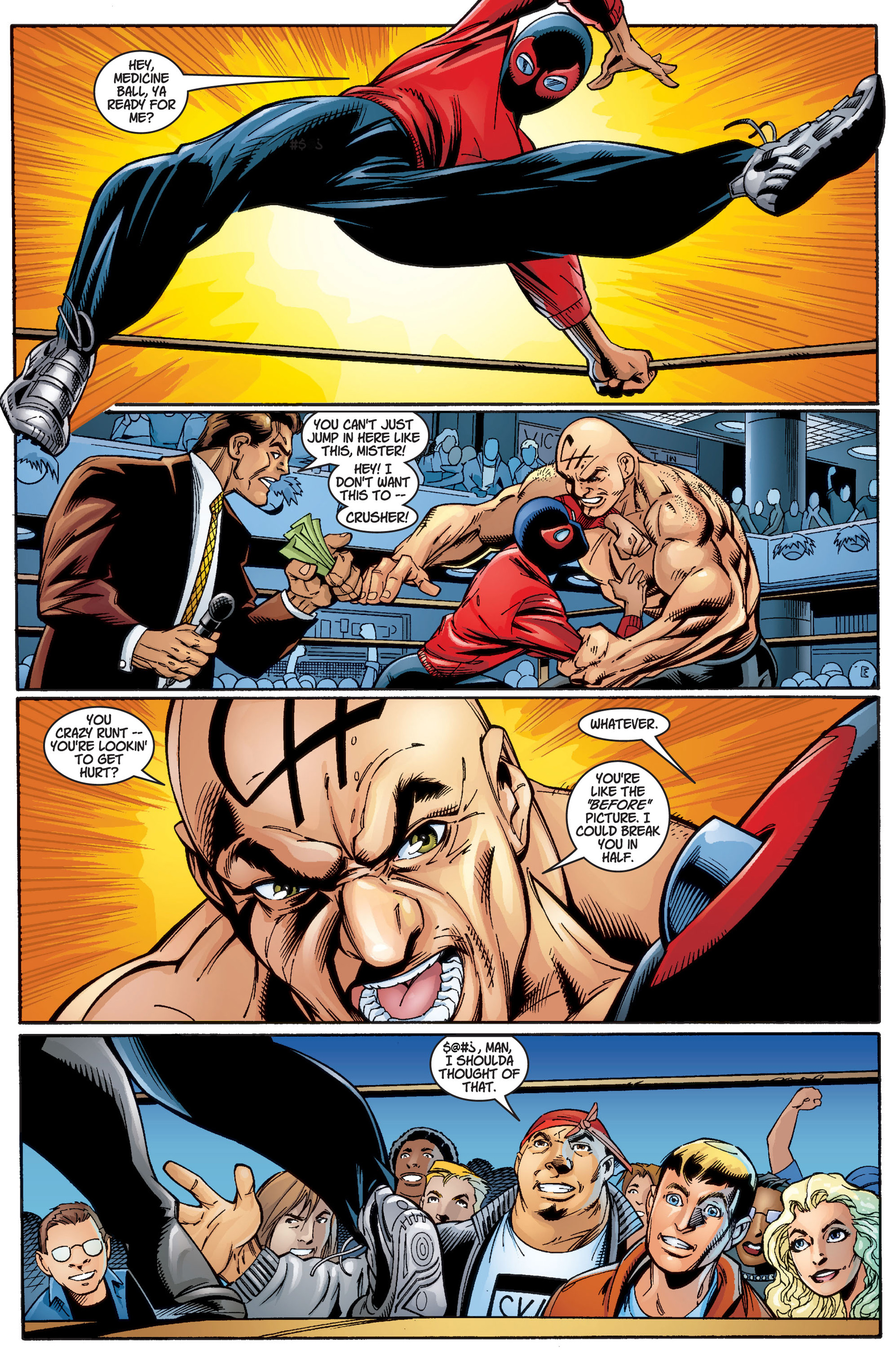 Read online Ultimate Spider-Man (2000) comic -  Issue #3 - 9