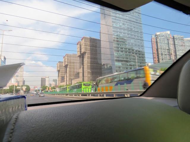 Traffic Jam in Beijing due to road closures during the Belt and Road Forum