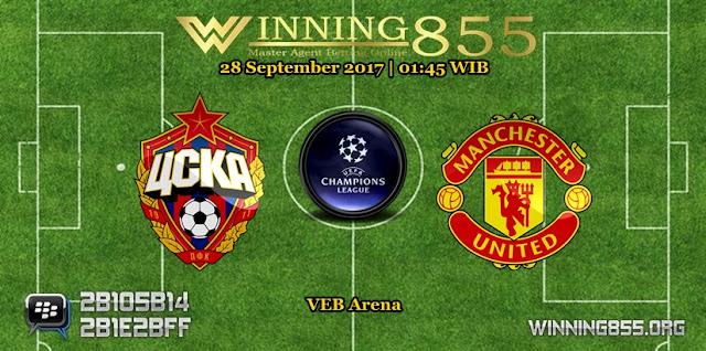 Prediksi Skor CSKA Moscow vs Manchester United