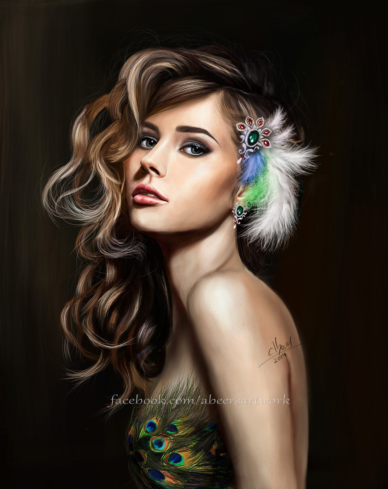 Digital Art by Indian Artist - Abeer Malik
