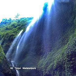 Air terjun Madakaripura Tempat Terakhir Gajah Mada