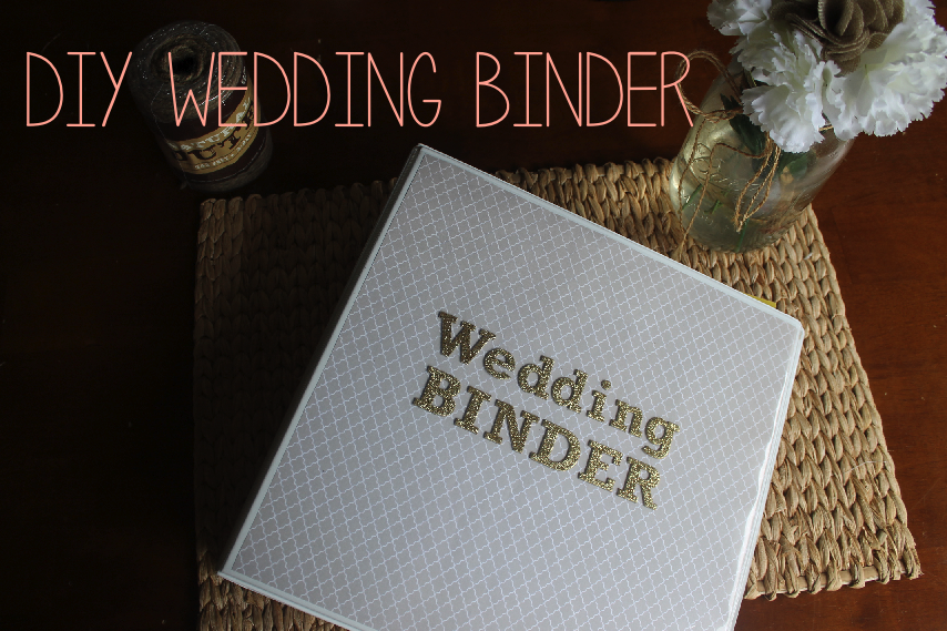 Printable Wedding Planner Binder Planning A Rustic: Corin Bakes: DIY Wedding Planning Binder
