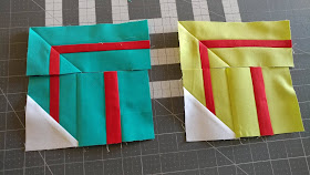 Presents/gift quilt block for Christmas quilt along
