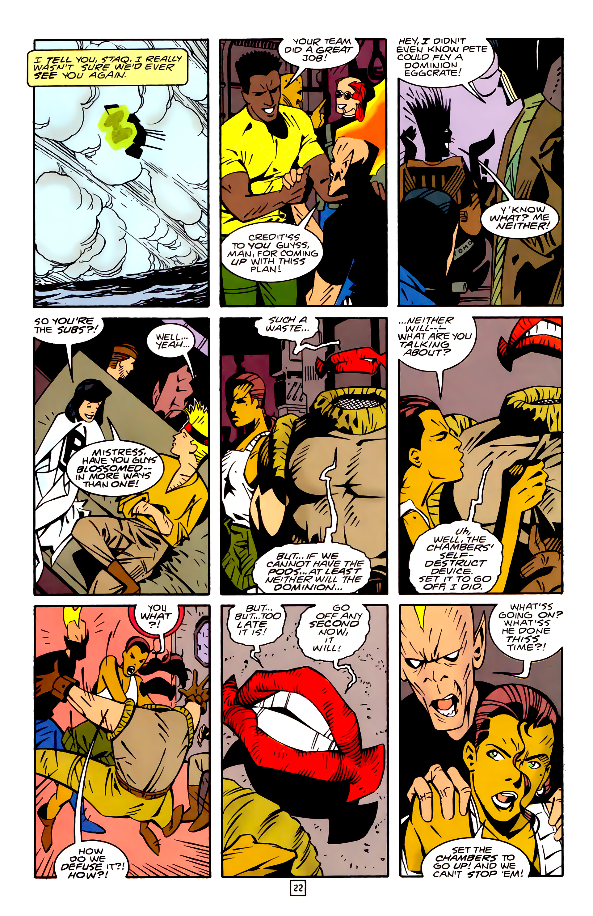 Legion of Super-Heroes (1989) 32 Page 22