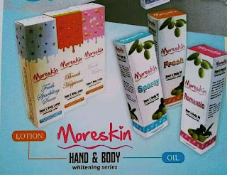 JUAL MORESKIN HAND & BODY LOTION