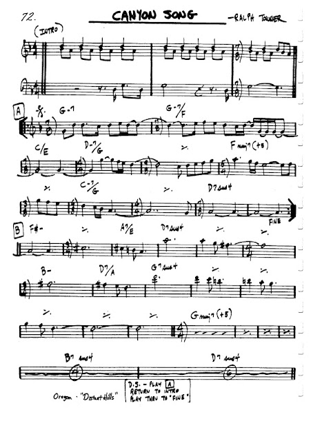 Partitura Violín Ralph Towner