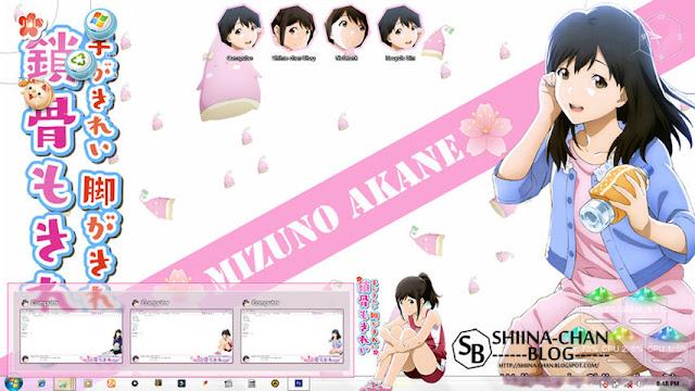 Tsuki ga Kirei Theme Win 7 by Enji Riz Lazuardi