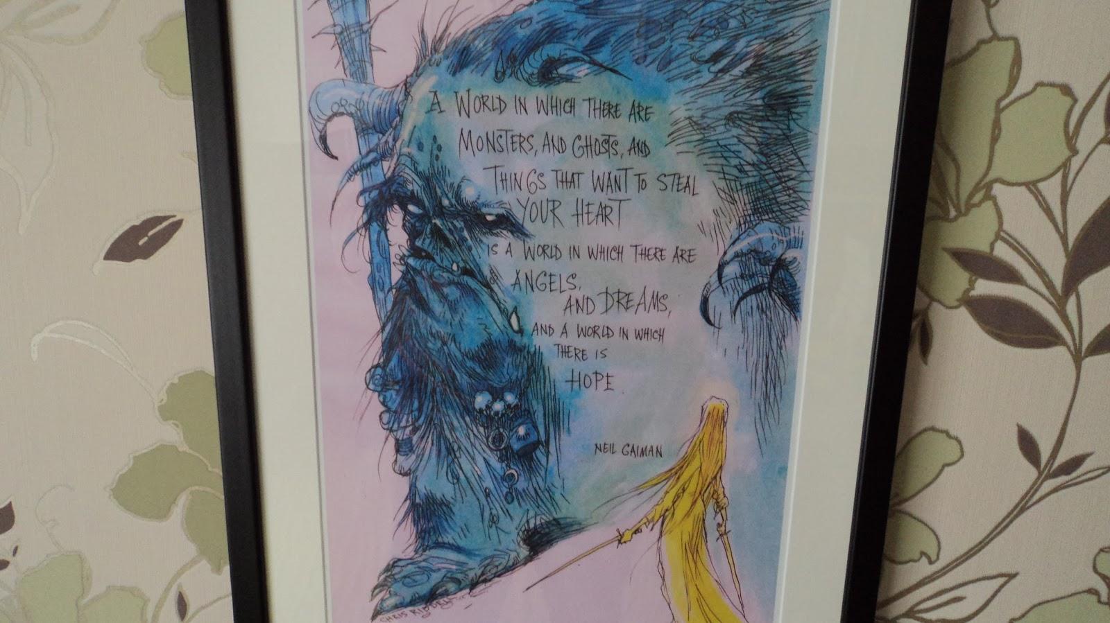 Neil Gaiman Chris Riddell Print