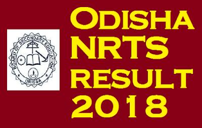 Odisha NRTS result 2018