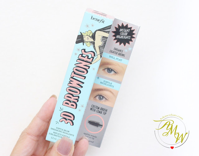 a photo of Benefit 3D BROWTones Brow Enhancer