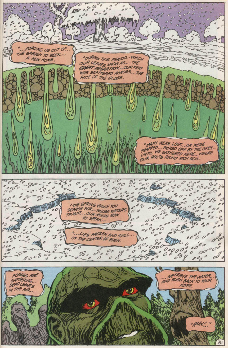 Swamp Thing (1982) Issue #100 #108 - English 30