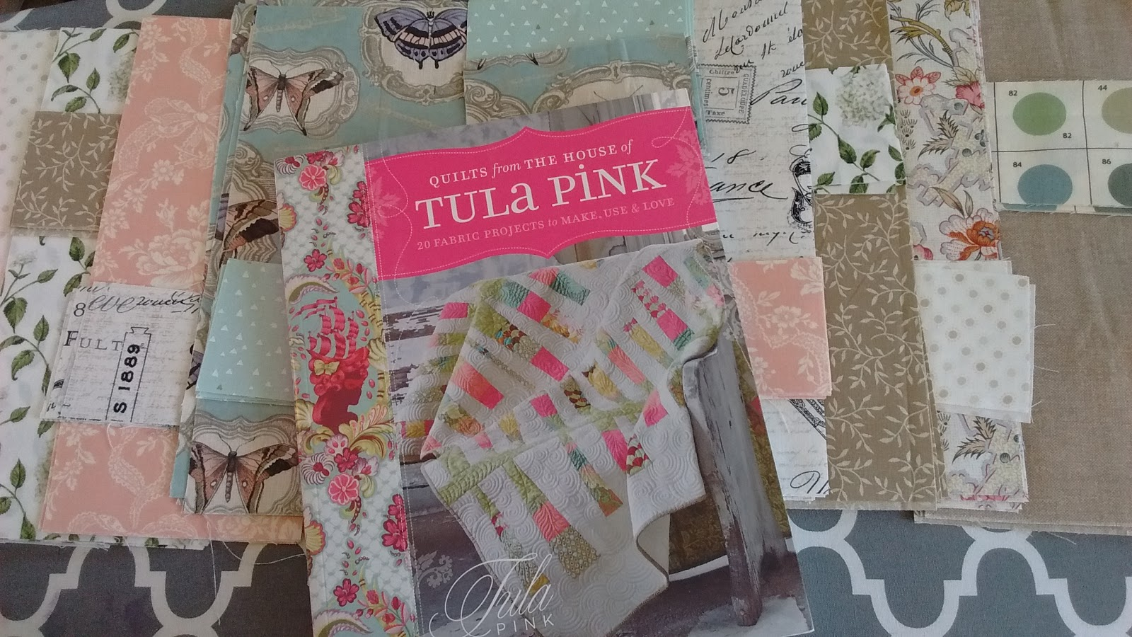 Current TULA PINK Book Giveaway