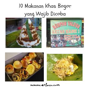 10 Makanan Khas Bogor Yang Wajib di Coba jika Berkunjung ke Bogor