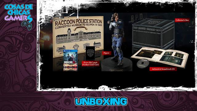 Unboxing Edición Coleccionista Resident Evil 2 Remake