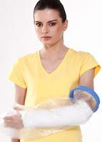 Tynor Cast Cover Arm