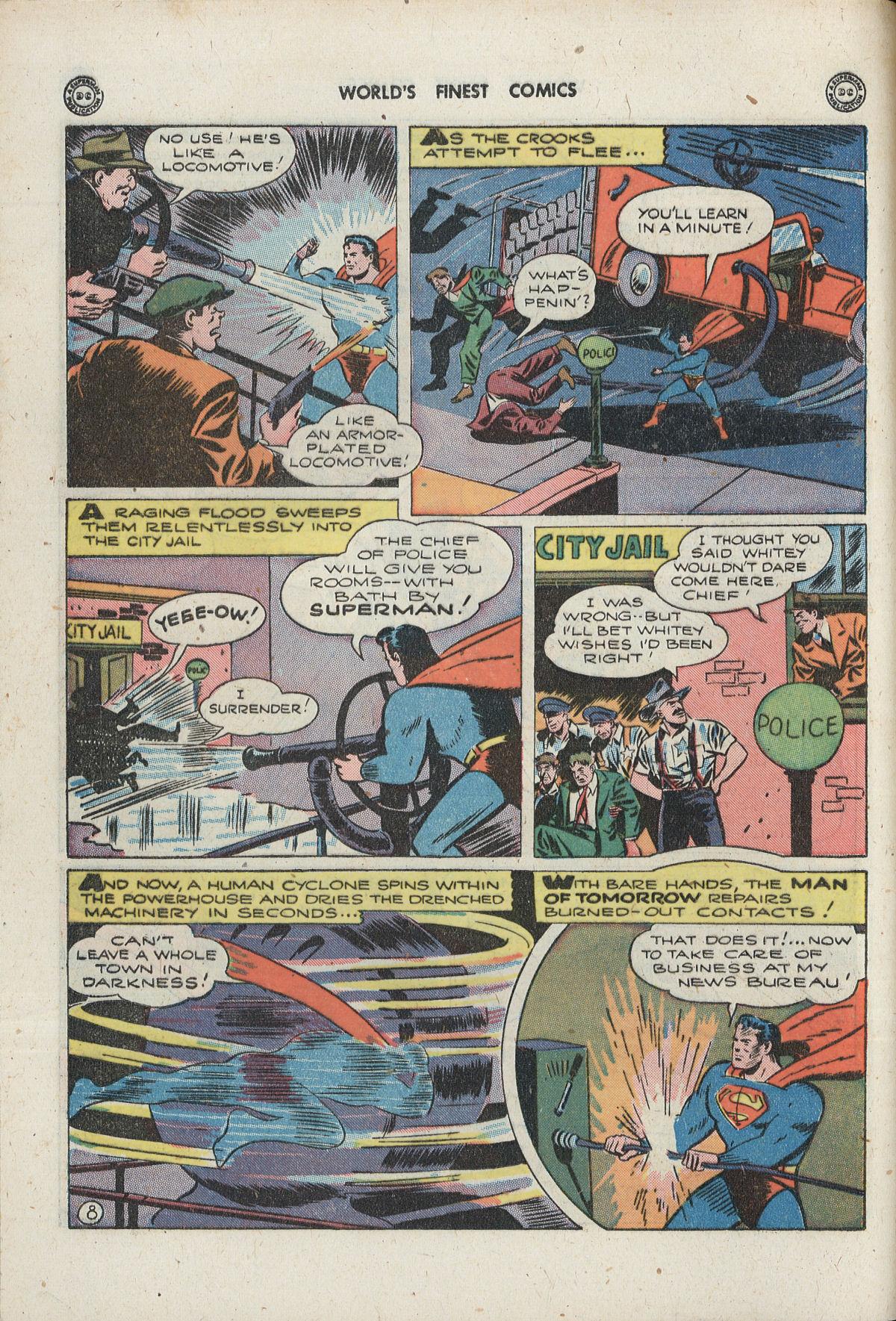Read online World's Finest Comics comic -  Issue #33 - 10