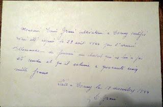 requsition cheval 1944 corny eure 27