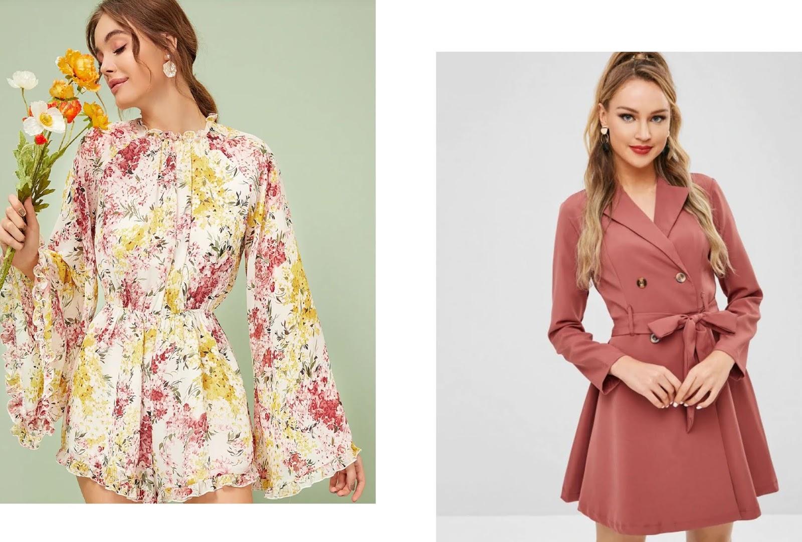 šaty na jar