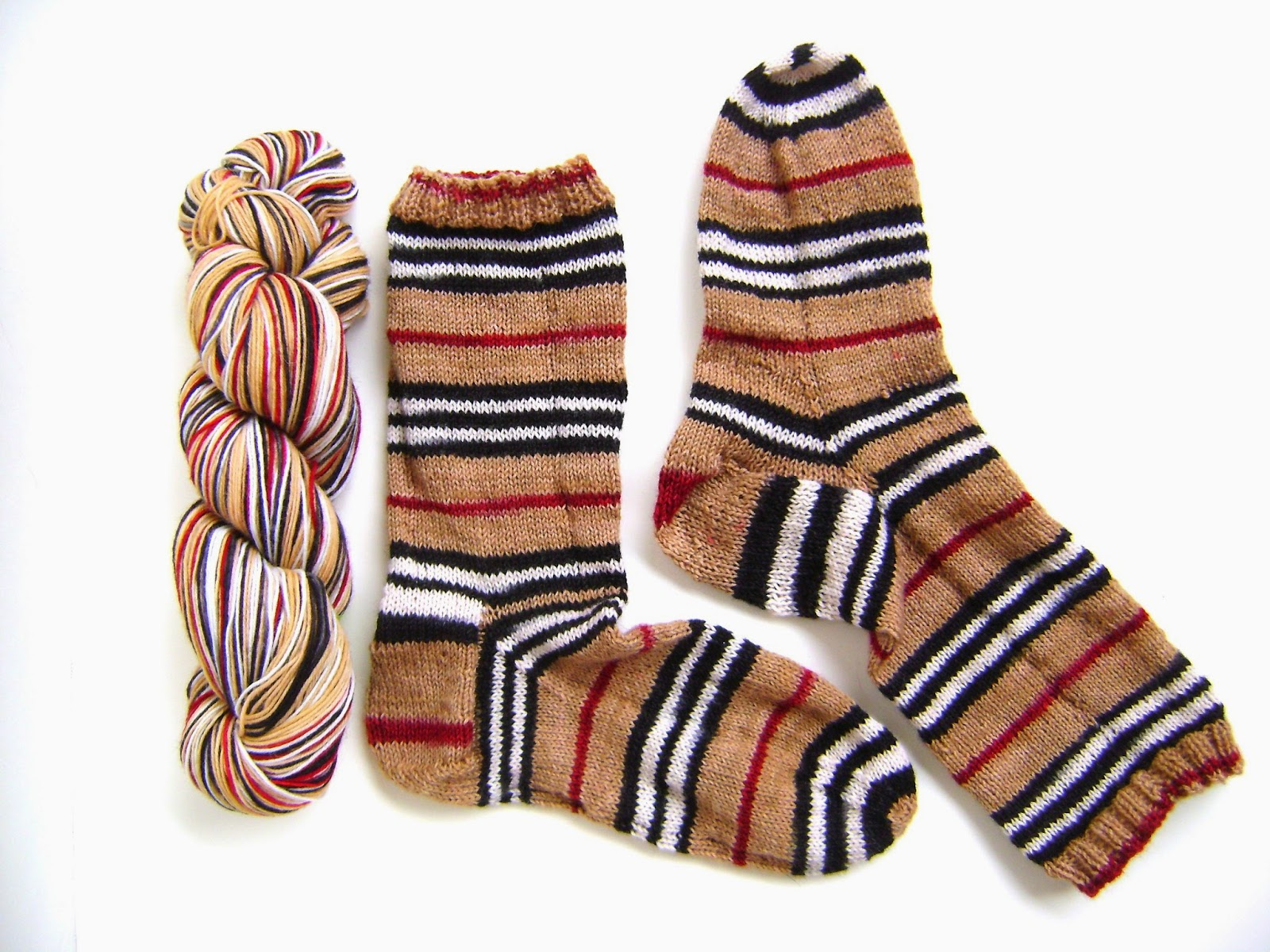 Creative Designs By Sheila Zachariae Burberry Inspired Sock Kit And