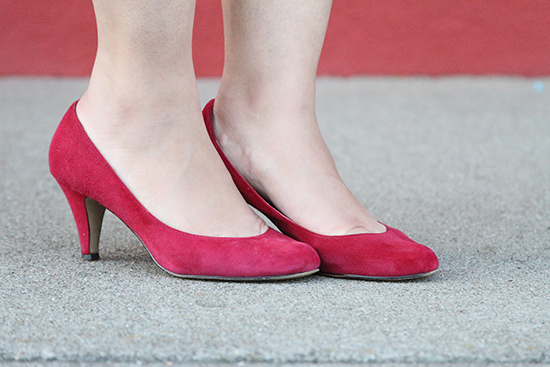 Steve Madden Red Suede Ulltra Pumps | Will Bake for Shoes