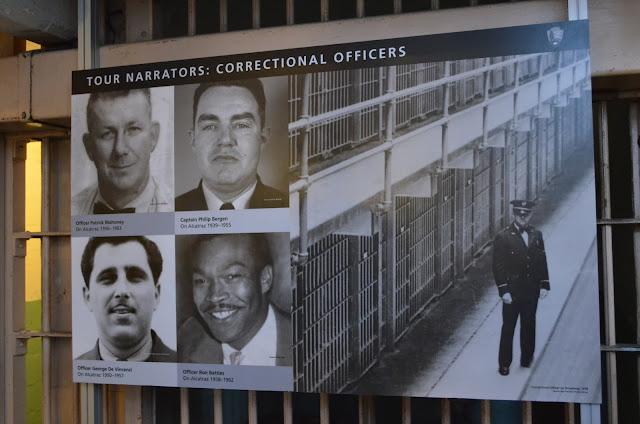 Fotos dos narradores - oficiais verdadeiros da prisão.