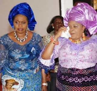 Bola Shagaya and Patience Jonathan
