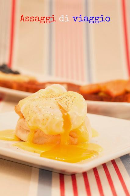 American Breakfast: Uova alla Benedict