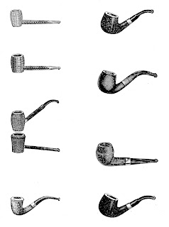 pipe smoking image download illustration collage