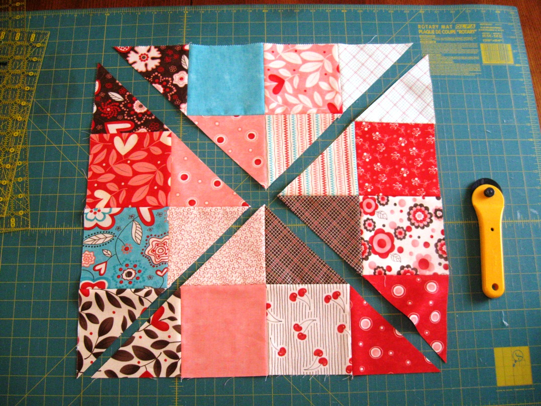 Happy Quilting Disappearing 16 Patch Tutorial