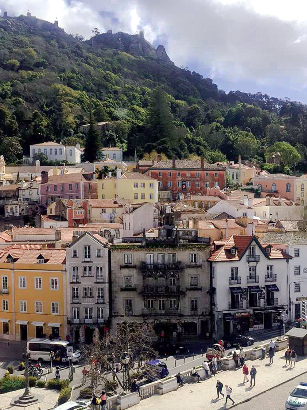 Sintra Lissabon Travel Mountains Forest Travel Old Houses