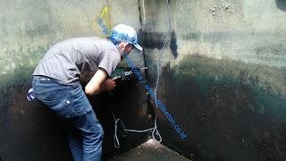 perbaikan beton retak