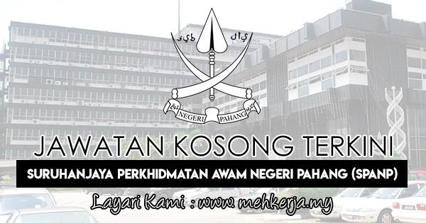 Jawatan Kosong Terkini 2018 di Suruhanjaya Perkhidmatan Awam Negeri Pahang