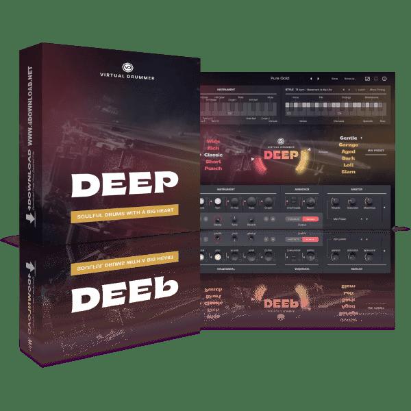 UJAM Virtual Drummer DEEP v2.1.1 Full version