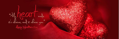 valentines day heart fb cover photo - Happy Valentine's Day FaceBook Images DP