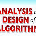 Analysis and Design of Algorithms Syllabus | Online Free Webinar Study